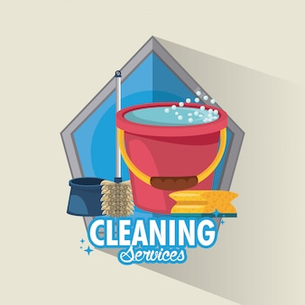 Reinigungsservice und reinigung