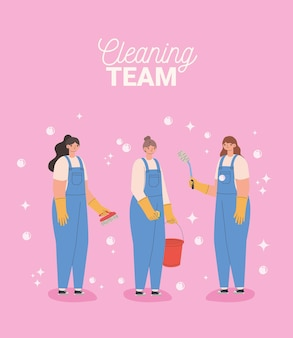 Reinigungsteam kartell
