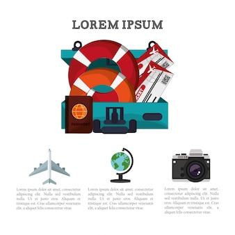 Reise broschüre promotion urlaub informationen
