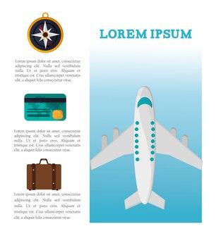 Reise broschüre tourismus urlaub