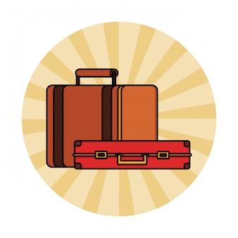 Reise-koffer-symbol