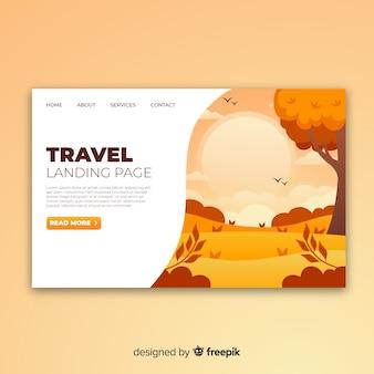 Reise-landing-page
