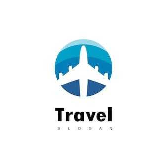 Reise-logo-design-vektor