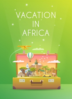 Reise nach afrika.
