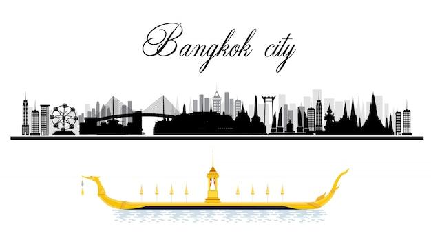 Reise nach bangkok in thailand und sehenswürdigkeiten