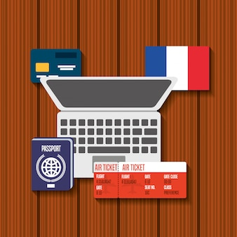 Reise nach frankreich ikonen