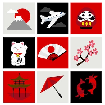 Reise nach japan festgelegt