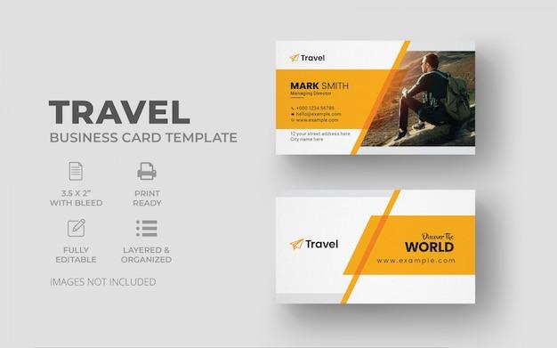 Reise-visitenkartenvorlage