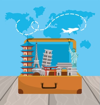 Reisebericht zu globaler internationaler reise