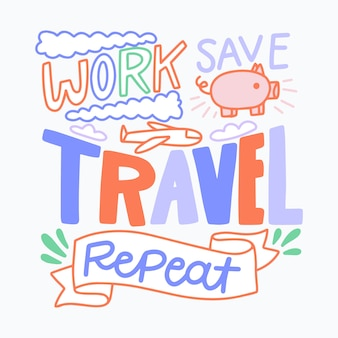 Reisebeschriftungsarbeiten sparen reisewiederholung