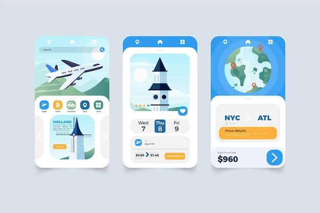 Reisebuchungs-app