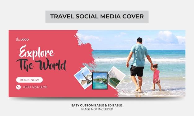 Reisebüro facebook titelbild design timeline webbanner tourismusmarketing social media titelbild