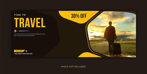 Reisebüro social media facebook-cover-banner