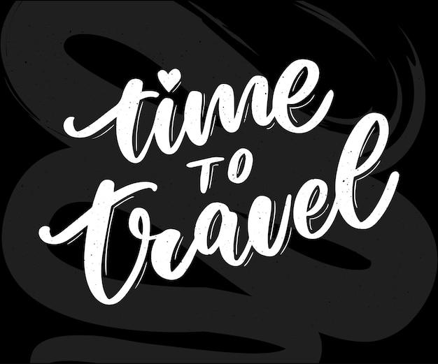 Reiselebensstilinspiration zitiert beschriftung. motivierende typografie. kalligraphie-grafik-design-element. sammle momente alte wege öffnen keine neuen türen. gehen wir erkunden. jedes bild erzählt eine geschichte
