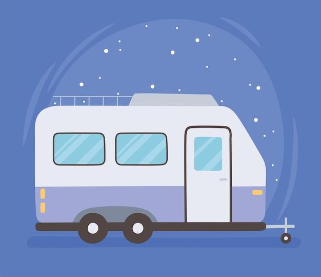 Reisen mit dem wohnwagen