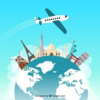 Reisen rund um die Welt