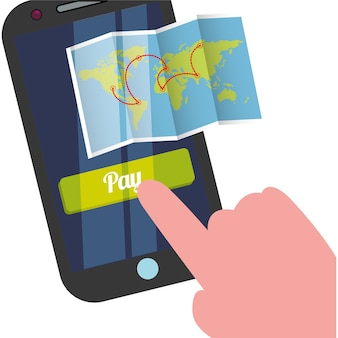 Reisen smartphone karte bezahlen urlaub