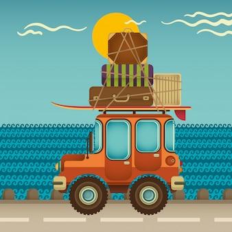 Reisende illustration