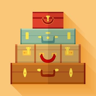 Reisende koffer