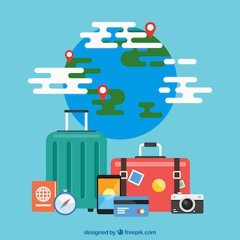 Reisenden objetcs sammlung
