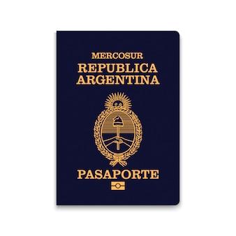 Reisepass von argentinien