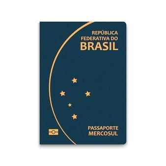 Reisepass von brasilien