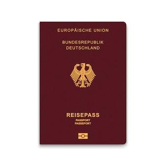 Reisepass von deutschland