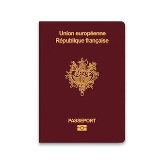 Reisepass von frankreich