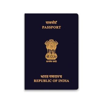 Reisepass von indien