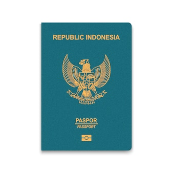 Reisepass von indonesien