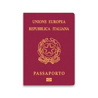 Reisepass von italien