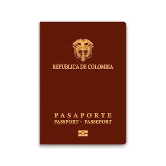Reisepass von kolumbien