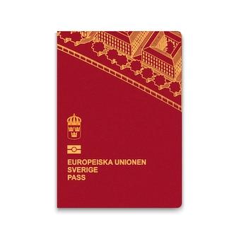 Reisepass von schweden