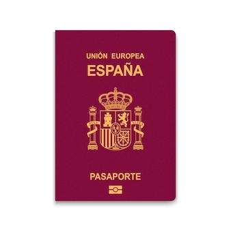 Reisepass von spanien