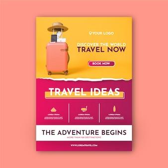 Reiseplakatvorlage