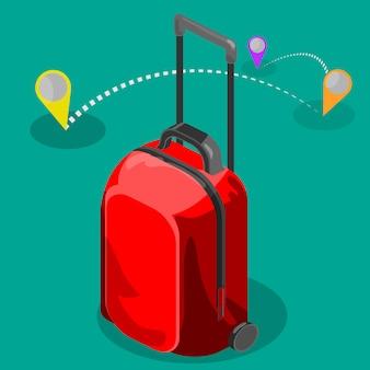 Reisetasche isometrisch