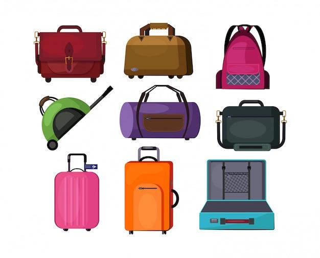 Reisetaschen eingestellt
