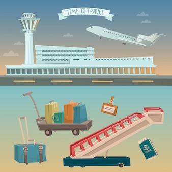 Reisezeit mit dem flugzeug