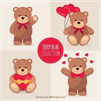 Reizenden Teddybären Pack