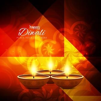 Religiöse diwali festival hintergrund-design
