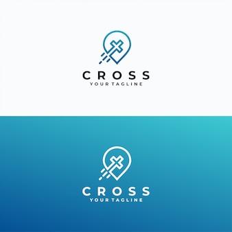 Religiöse logo vorlage