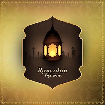 Religiöser hintergrund des abstrakten islamischen festivals