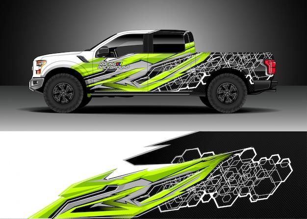 Rennwagen für rallye