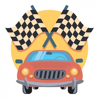 Rennwagen icon