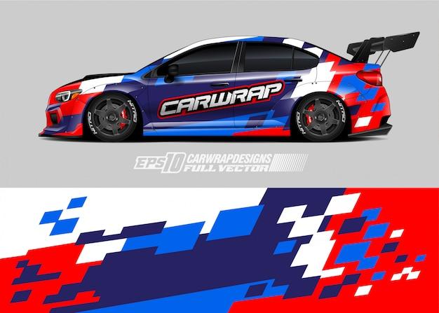 Rennwagen wrap designs