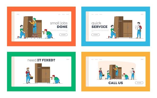 Reparatur- und installationsarbeiten für arbeiter