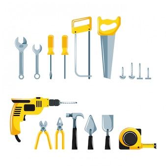 Reparaturwerkzeuge eingestellt