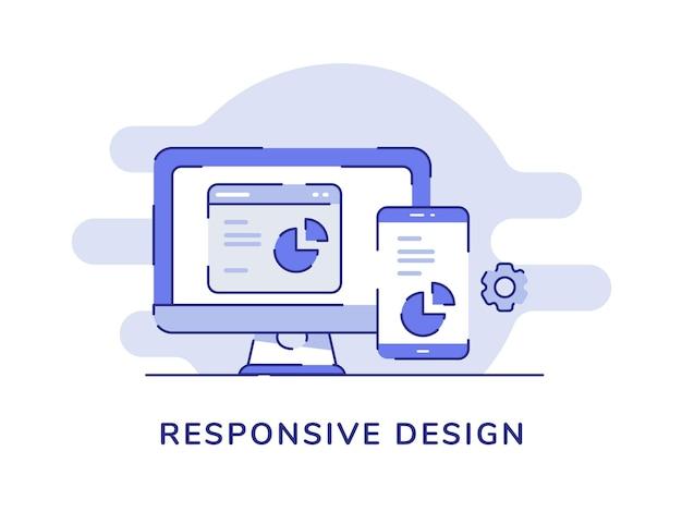 Responsive design-konzept-entwicklungsprozess