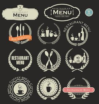 Restaurant-abzeichen