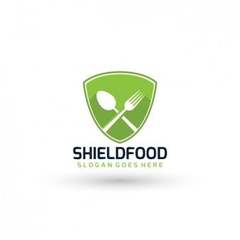 Restaurant logo-vorlage